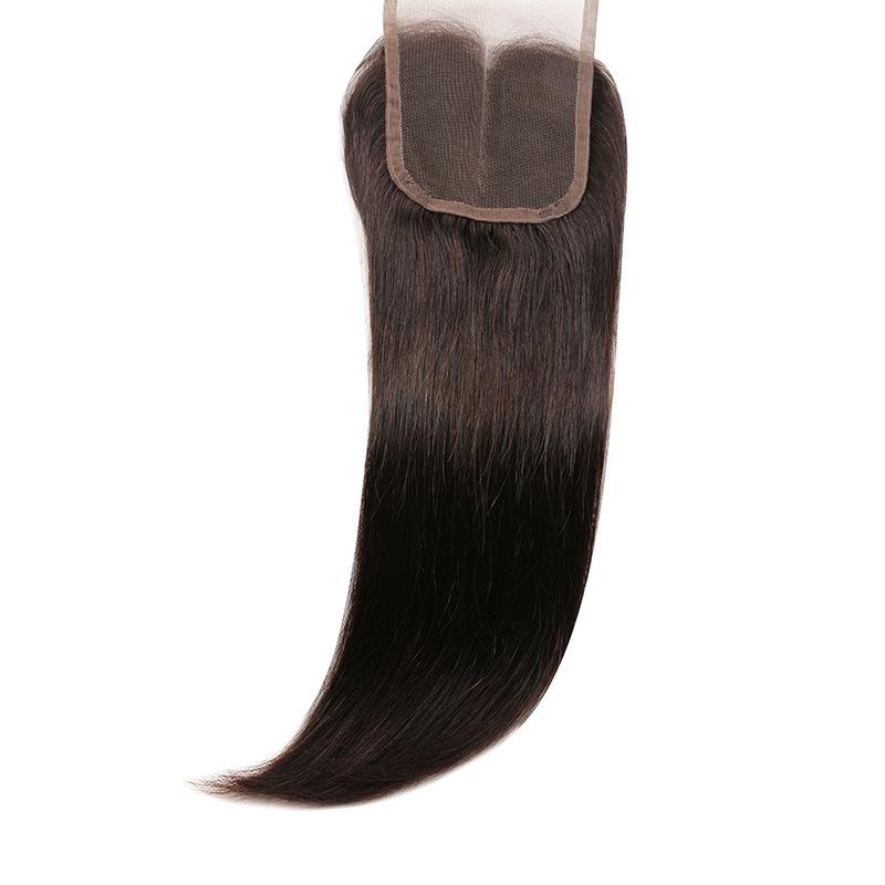 """Lace Closure Bleached Knots Brazilian Virgin Hair Body Wave Closure Brazilian Lace Closure Free/Miiddle/3part 4""""X4""""Cheap Closure"""