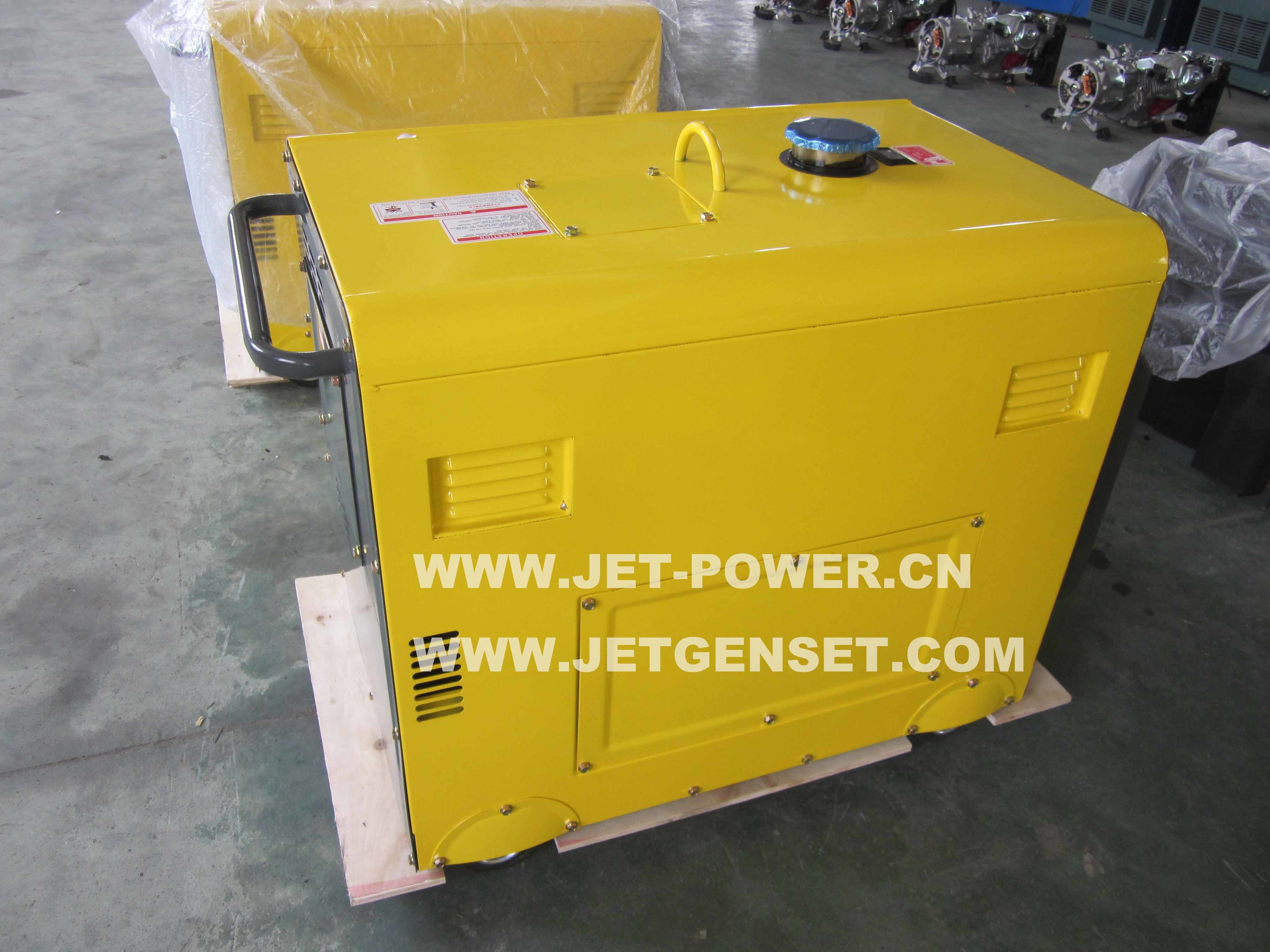 China Portable Silent Home Use Generator Diesel 3kVA with Price