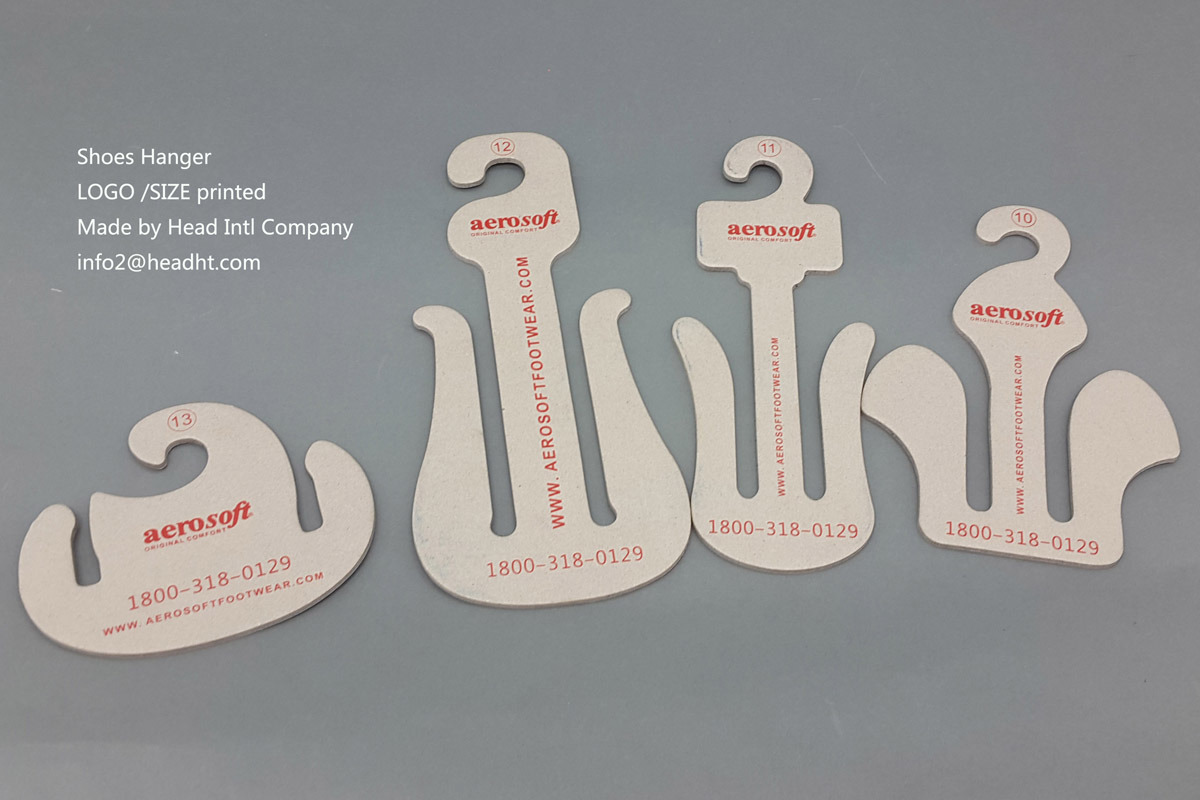 Eco-Friendly Recyclable Paper Cardboard Shoes Hanger, Paper Hanger for Shoes