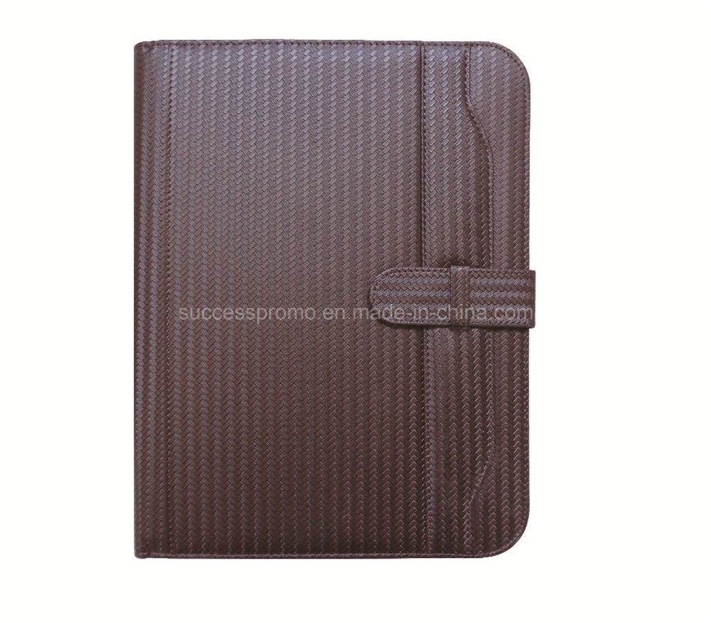 Customized Popular High Quality Zipper Portfolio File Folder