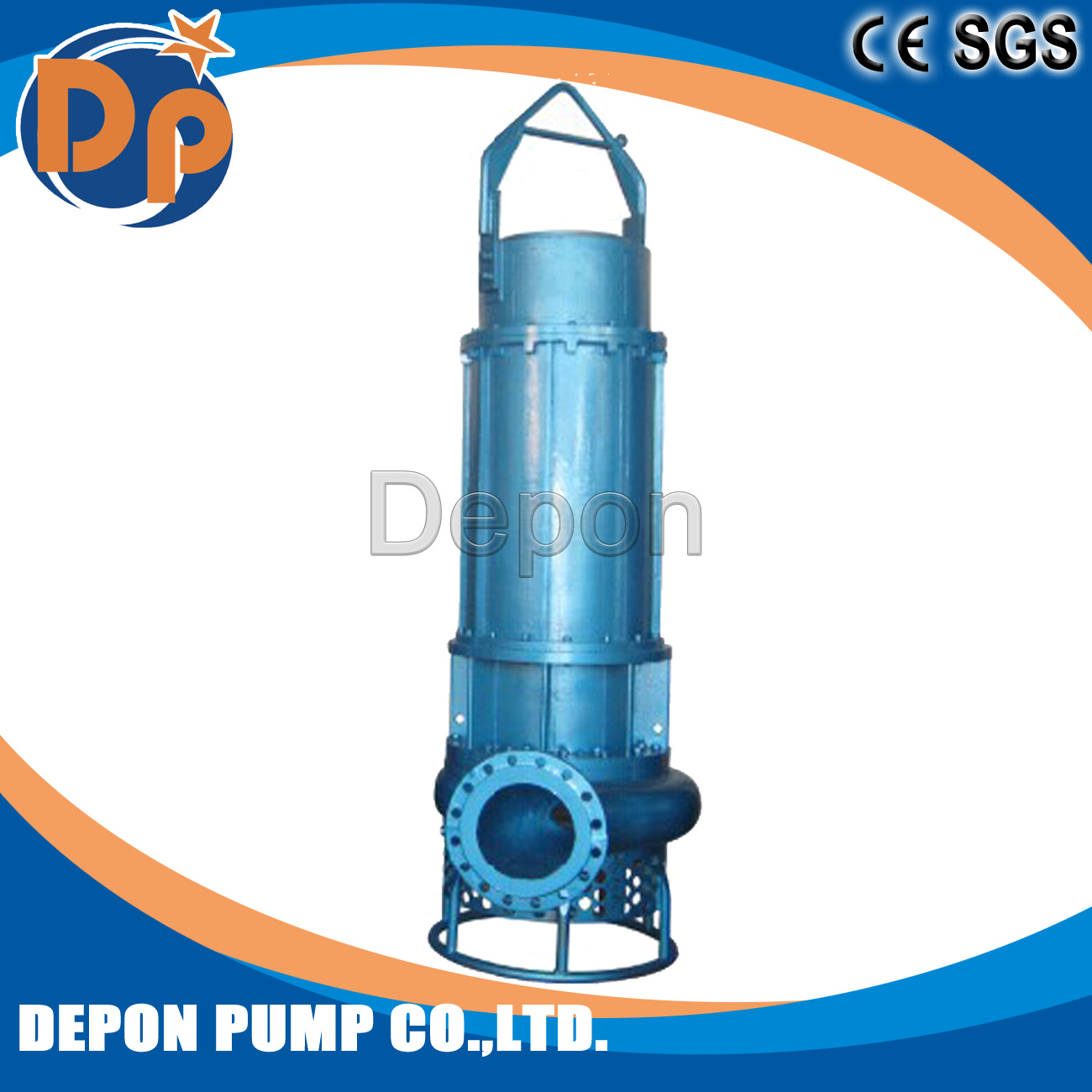 Solid Slurry Pump Closed Impeller for Industry Wastewater