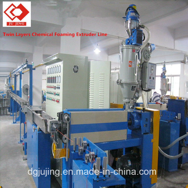 Manufacturing Equipment Cable Wire Chemical Foaming Extrusion Line Cable Making Machine