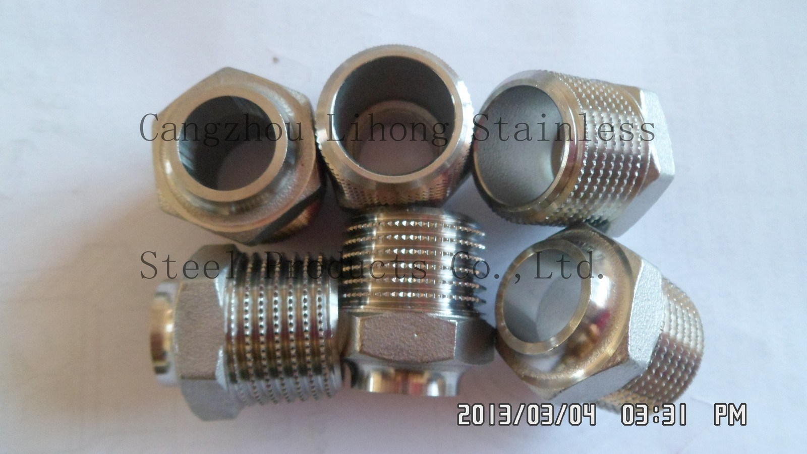 """2"""" Stainless Steel 316 Knurling Pipe Fitting"""