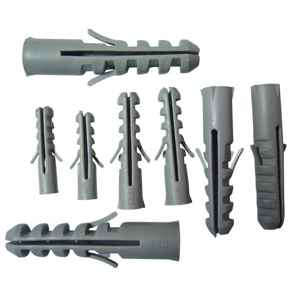 Nylon Fisher Wall Plug in Grey