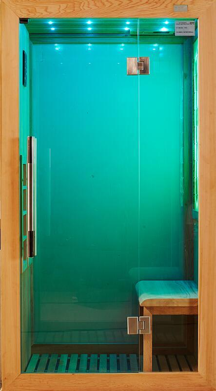 2016 New Bathroom Design Light Jade Far Infrared Sauna (I-013)