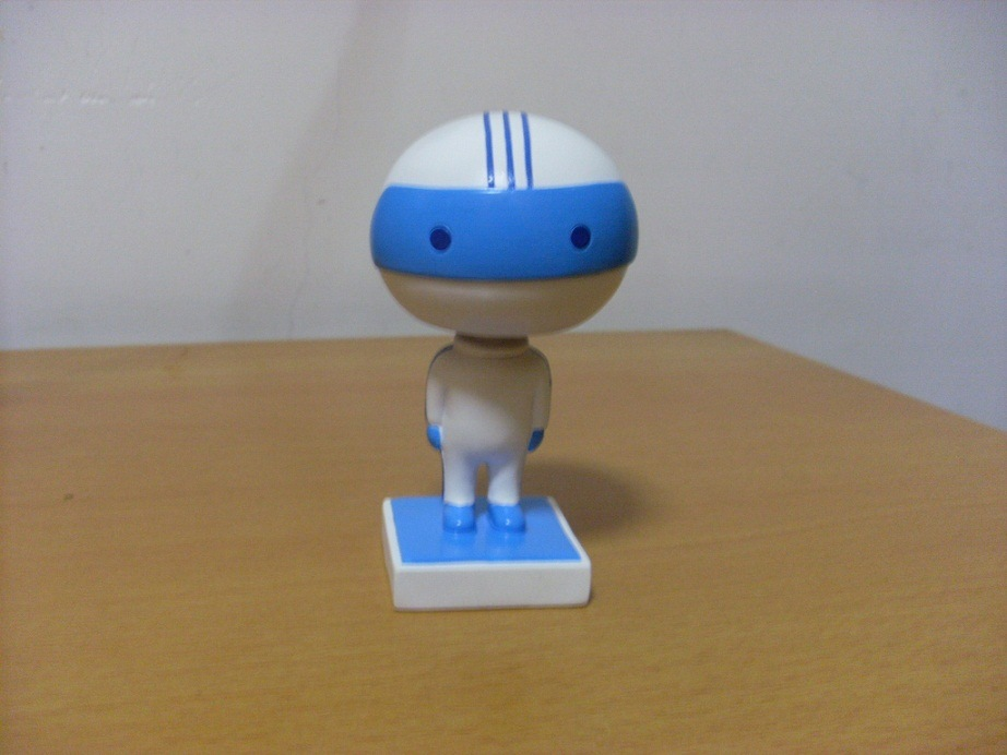 Polyresin Resin Soccer Custom Talking Bobble Head (Hogao001)
