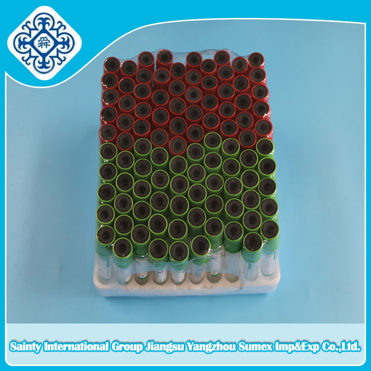 Disposable Vacuum Blood Collection Tube with Ce & ISO