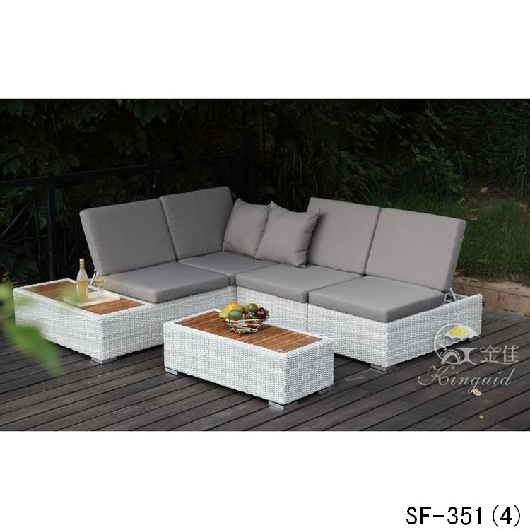 PE Rattan Sofa, Outdoor Furniture, Sf-351