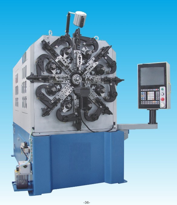 CNC 3D Spring Wire Forming Machine