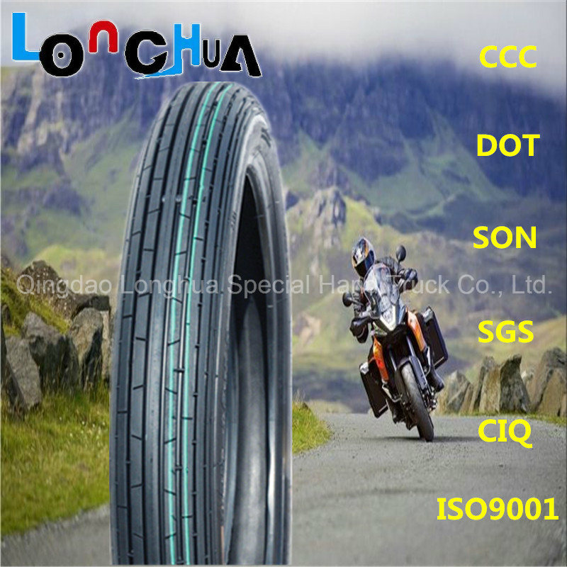 ISO9001: 2008 Certified China High Quality Motorcycle Tyre (2.25-17)