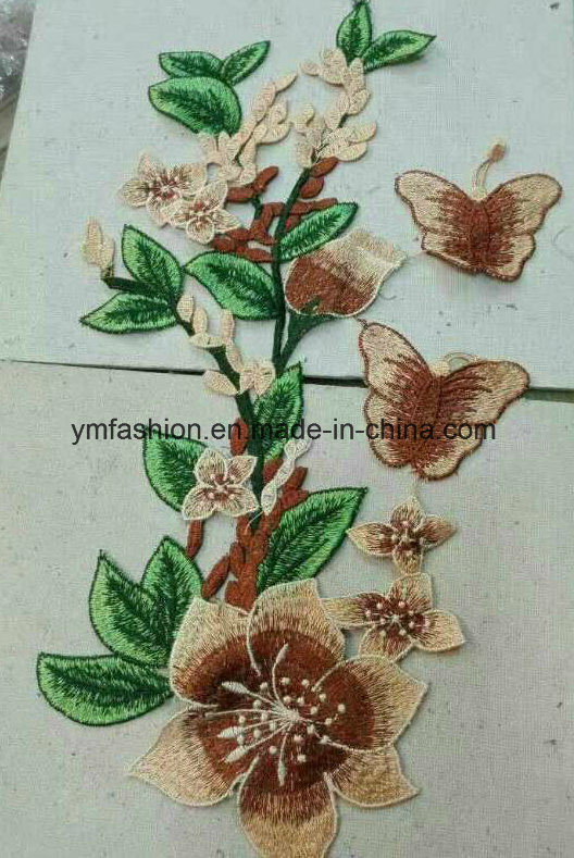 Hot Sell Garment Accessories Embroirdery Flower Ym-45