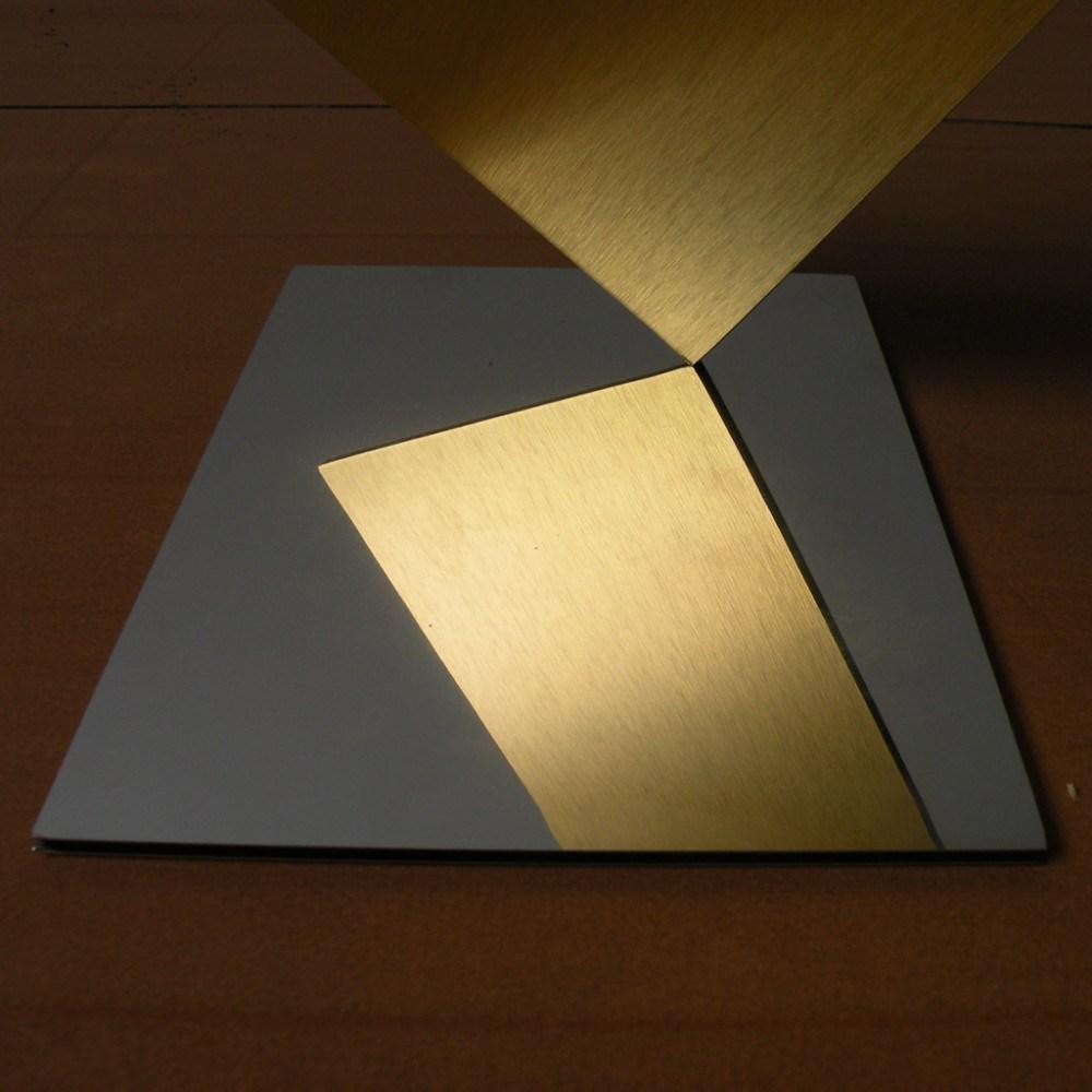 Wooden Color Decoration Material Aluminum Composite Panel (1220*2440*3mm)