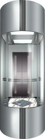 Sightseeing Passenger Elevator with Small Machine Room