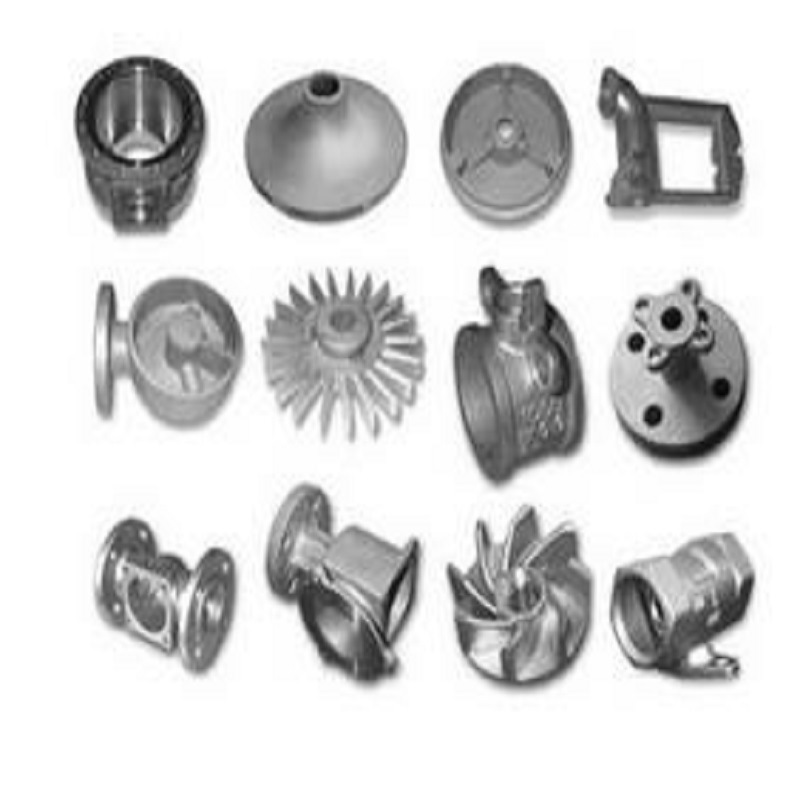 Carbon Steel Mining Machine Casting Parts with Machining