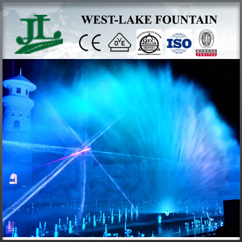 Customized Water Music Fountain on The Lake