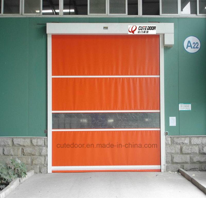 Industrial PVC Fabric Ordinary Fast Roller Shutter Door