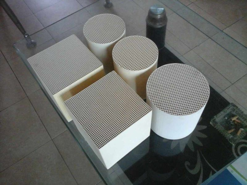 Honeycomb Ceramic Heat Exchanger Substrate