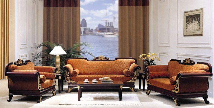 China Hotel Furniture/Hotel Living Room Sofa/Luxury Hotel Sofa ...