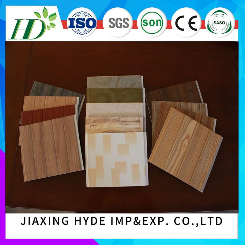 Construction Material PVC Lamination Panel Decoration Wall Panel