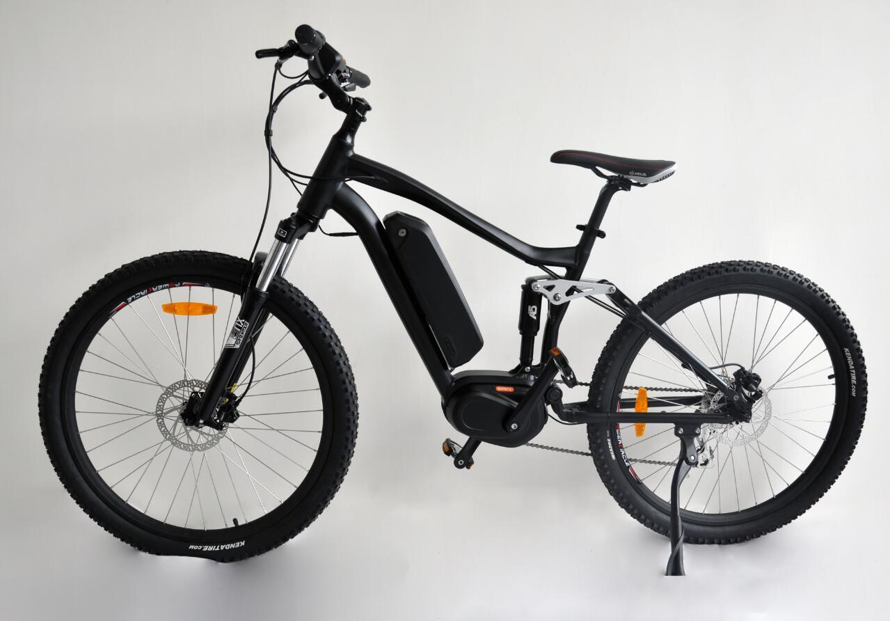 27.5 Inch Electric MID Motor Bike Bicycle with Lithium Battery