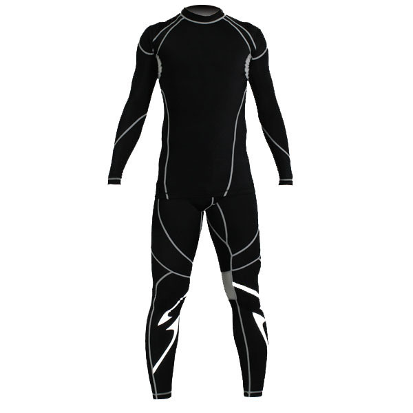 Wholesale Long Sleeve Compression Fitness Gym Sportswear