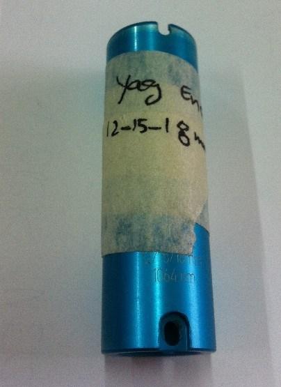 Optical Lenses for Candela YAG Endcap