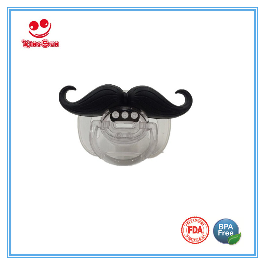 Funny Mustache Pacifier for Newborns
