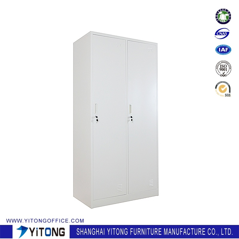 Yitong 2-Door Metal Storage Cabinet / Office Use Steel Locker