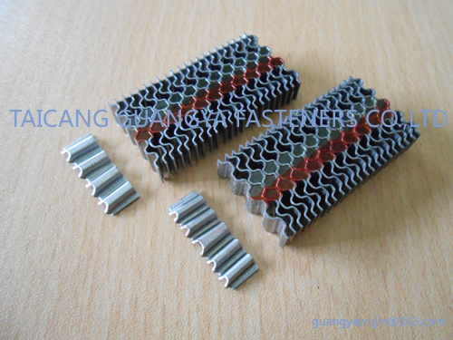"""Bea Type Corrugated Fasteners W9 Series 3/8"""" Length"""