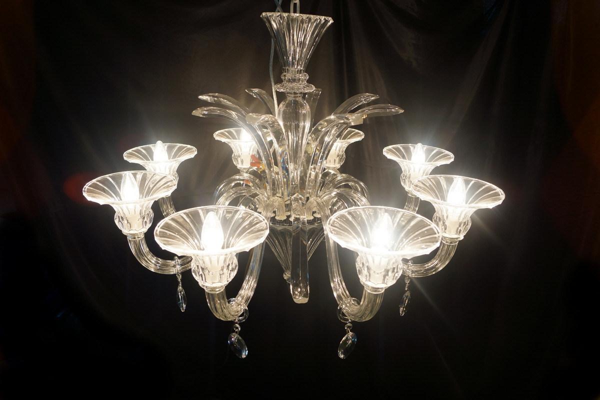 Modern Project Hotel Crystal Pendant Lamp (81072-8)