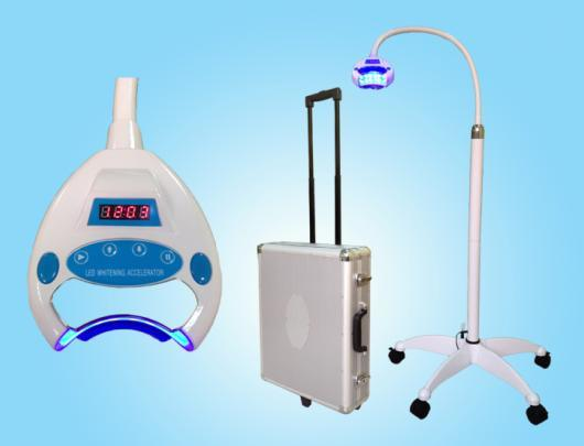 RF IC Card Control Teeth Whitening with Portable Aluminum Case