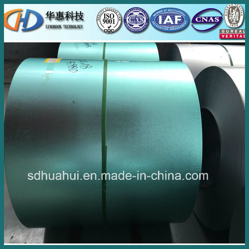 High Quality Steel Coil of 55% Al Green Anti-Figure Gl