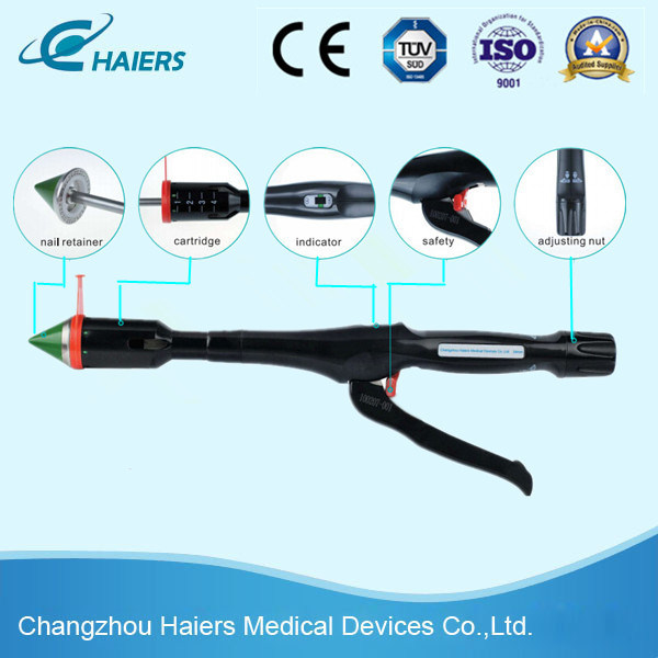 Disposable Surgical Hemorrhoids Stapler for Pph Surgery