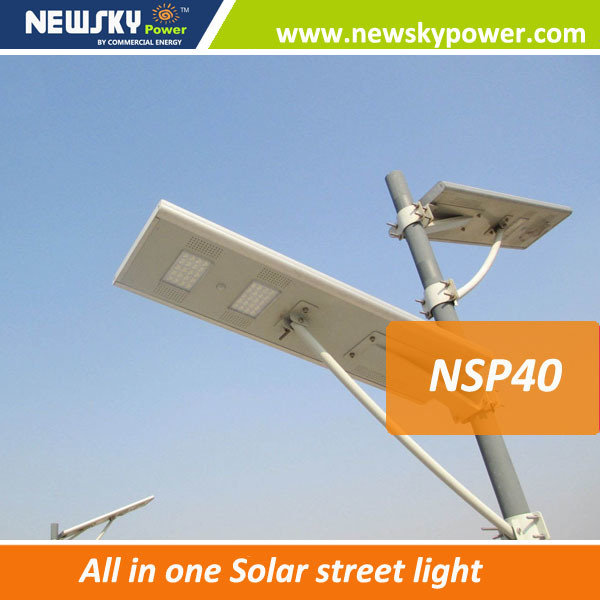 New Model 60W Solar LED Light