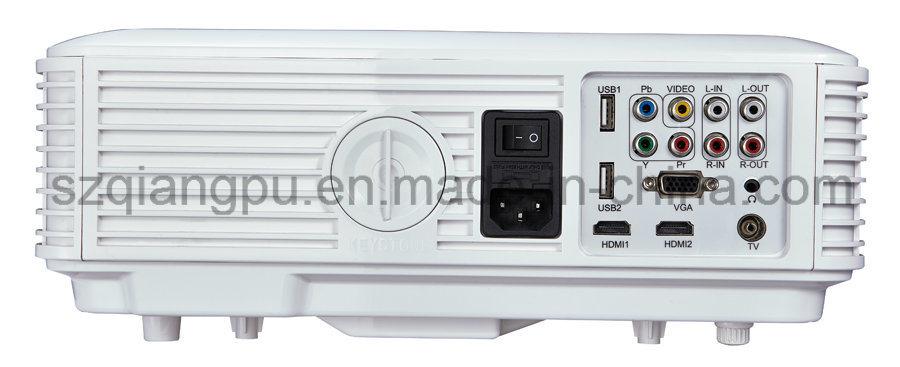 800*480, Keystone HDMI USB, 3D Ready LCD Projector (SV-226)