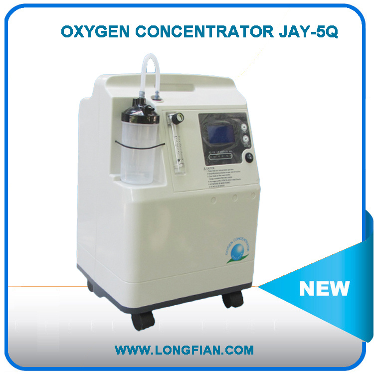 Homecare Oxygen Concentrator Equipment 3lpm&5lpm / Comcentrador De Oxigeno