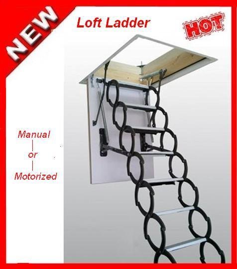 China motorized loft ladder hy 1101 china loft ladder Motorized attic stairs