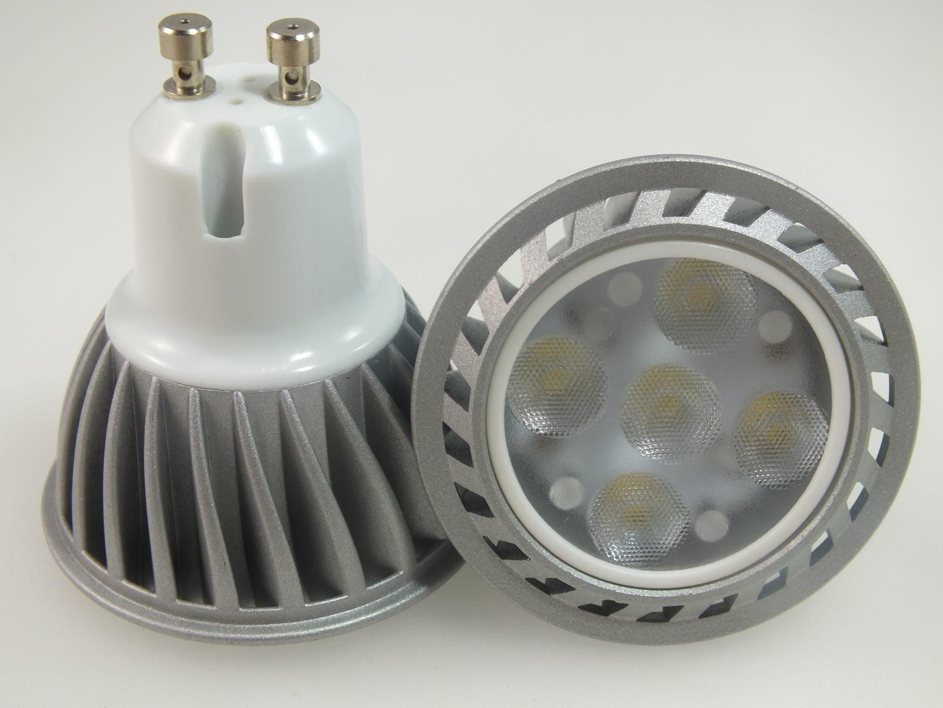 New High Power LED GU10 5W Bulb (GU10AA1-5S3030)