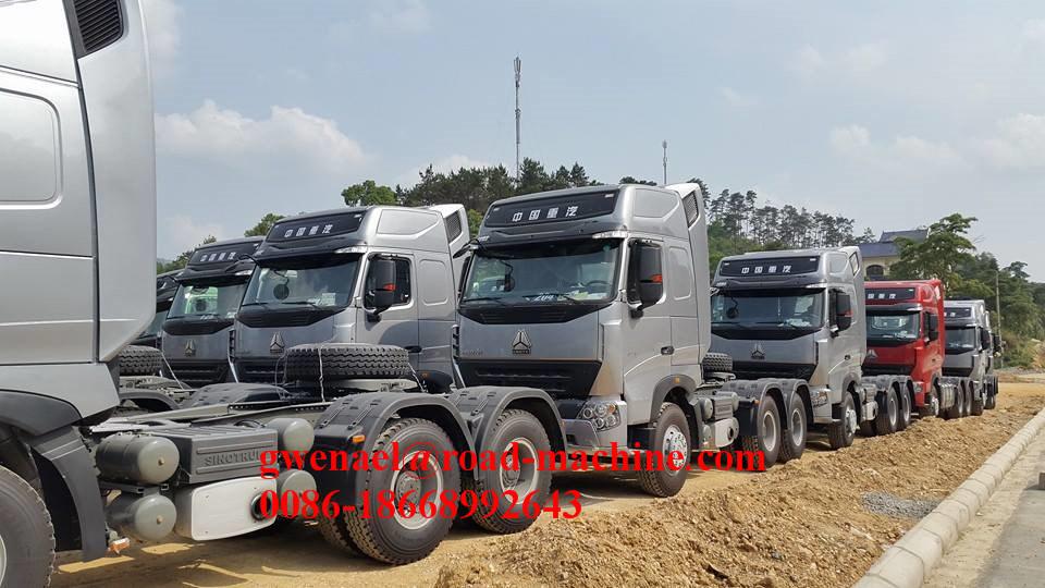 Sinotruck HOWO A7 10 Wheels 6X4, 375HP, Rhd/LHD, Euro III Tractor Head/Truck Head/ Horse/ Prime Mover/ Tractor Truck