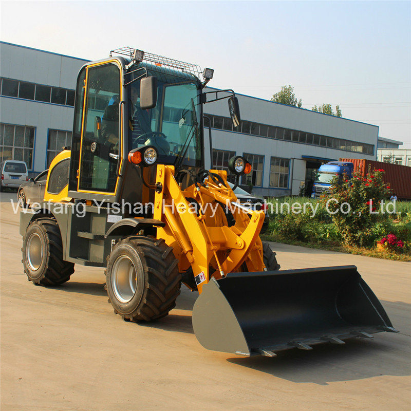 0.8ton Front Wheel Loader for Sale