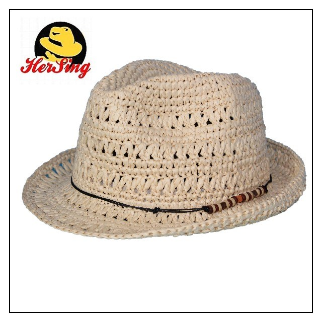 Crochet Sraw Summer Hat