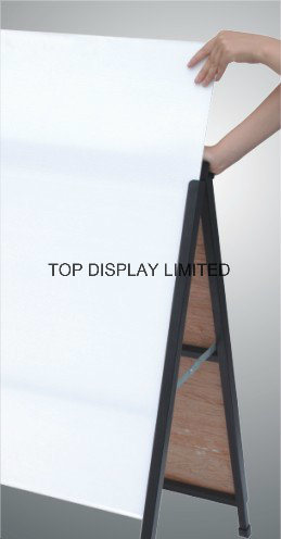 Insert a Frame Sign with Top Flap Corflute Yard Sign Custom Screen Printed a Fame Sign