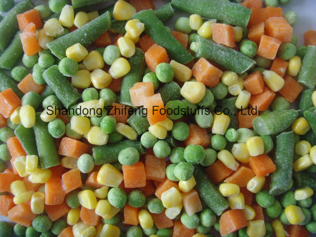 Chinese IQF Frozen Mixed Vegetables for Exporting