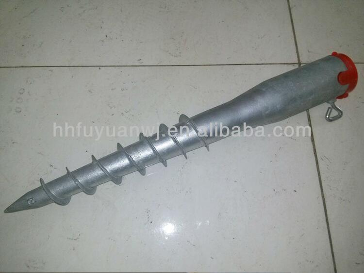 Factory Solar Mounting Ground Screw Piles