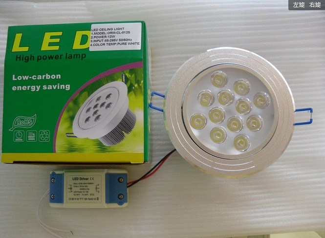 12W High Quality LED Ceiling Lights (ORM-CL-12W)