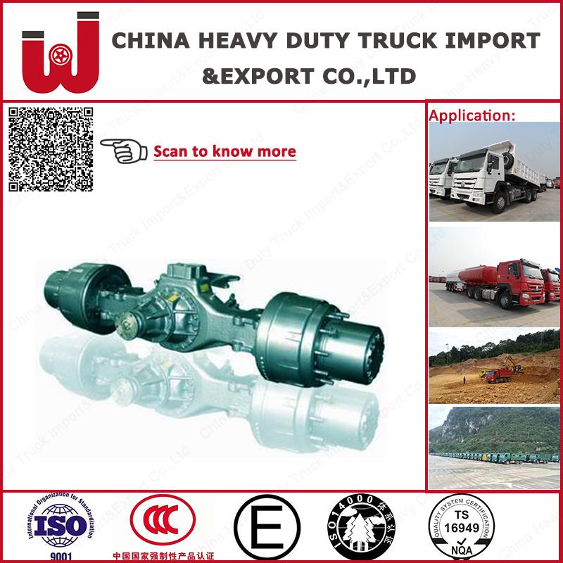 Genuine Truck Spare Part Sinotruk Hc16 Rear Axle (Ah71131551955)