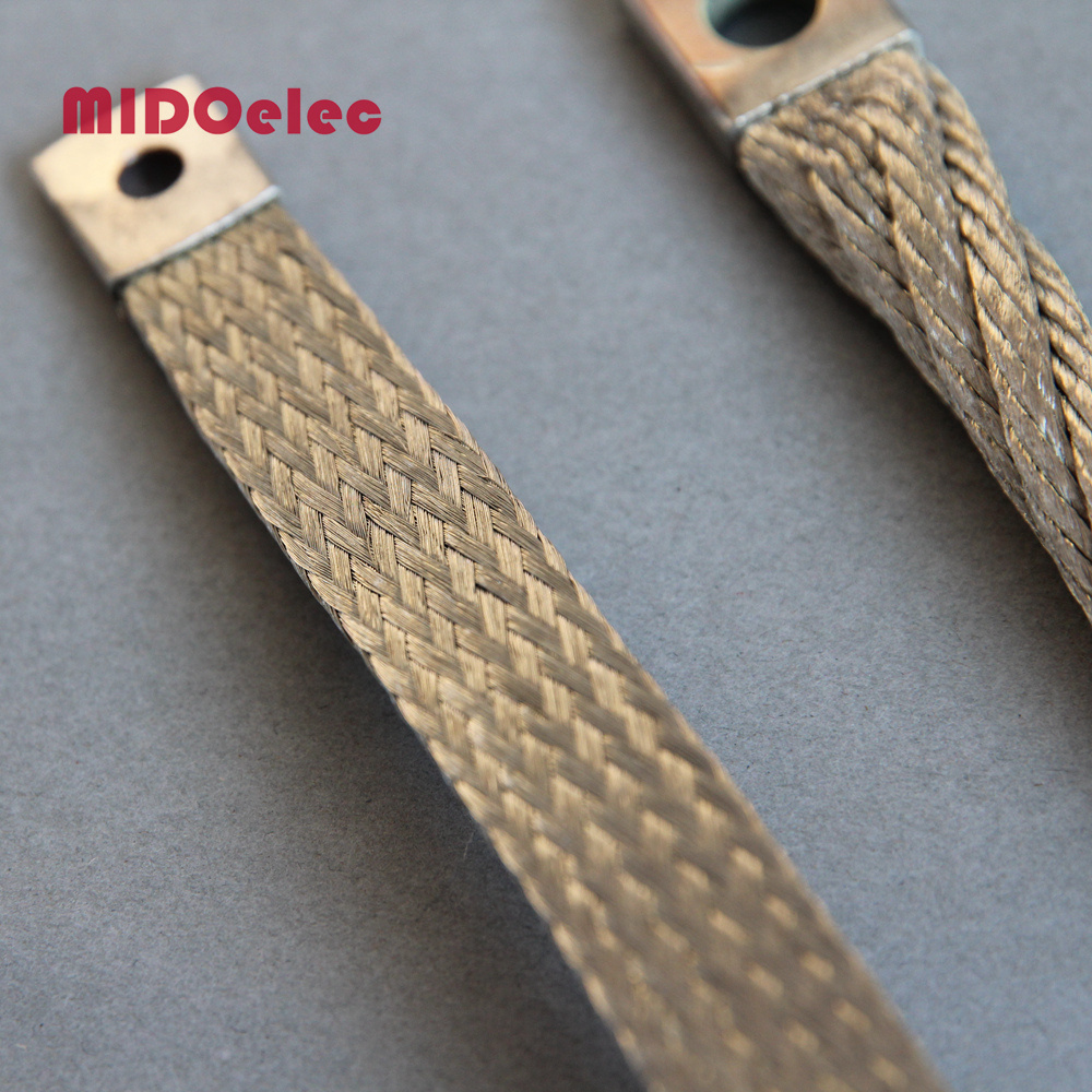 Tinned Copper Flexible Earthing Strap