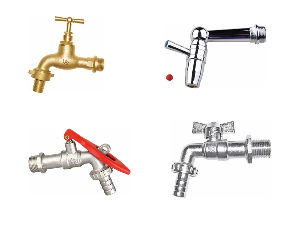 """1/2""""-4"""" Brass Bibcock (tap) for Water (a. 0174)"""