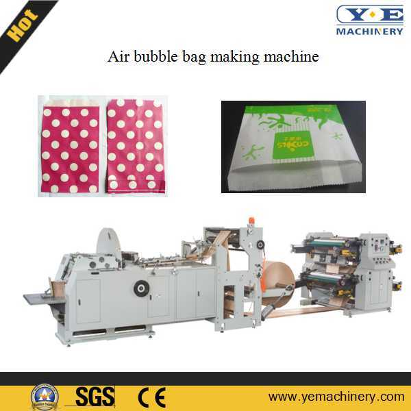 Food Bread Paper Bag Making Machine with Two Color Printing (JDYT)