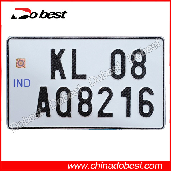 India High Security Car Number Plate